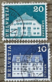 Elvetia Palatul Freuler, Näfels, Planta House, Samedan, Arhitectura, Stampilat