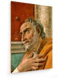 Tablou pe panza (canvas) - Sandro Botticelli - St. Augustine - Detail