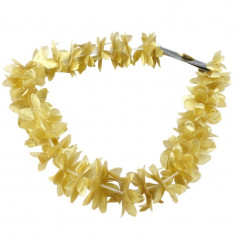 Ghirlanda cu flori aurii, marime universala, lungime 50 cm