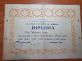 Diploma premiul 1 cu distictie,clasa 1-a - din anul 1947-1948