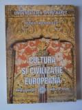 CULTURA SI CIVILIZATIE EUROPEANA de RAZVAN THEODORESCU , 2005 , CONTINE SUBLINIERI CU CREIONUL