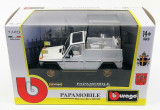 Macheta Mercedes Benz 230 GE Papamobile - Burago  scara 1:43