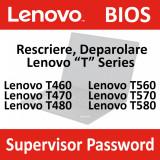 Deparolare, UNLOCK Bios Lenovo Thinkpad T460, T470, T480, T560, T570, T580