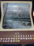 Calendar vechi de perete Ceausist,calendar  Ccomunist ,Tp.GRATUIT