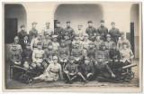 B2306 Ofiteri subofiteri romani Regimentul 90 Infanterie Sibiu studio E Fischer