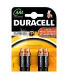 Set 4 Baterii Duracell AAA LR03