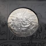 10 Euro 2015 Franta argint Asterix si Obelix / Fraternite / proof, Europa