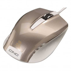 Mouse optic Cino, 3 butoane, 800 dpi, senzor Blue Wave, Crem