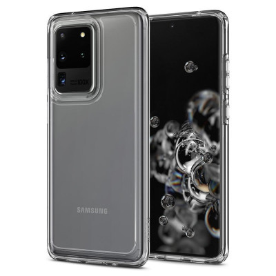 Husa Spigen Ultra Hybrid pt. Samsung Galaxy S20 Ultra Crystal Clear foto