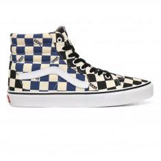 Shoes Vans Sk8-Hi Big Check Black/Navy