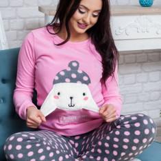 Pijama pufoasa pentru nopti confortabile