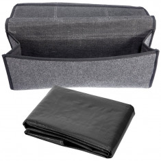 Folie impermeabila Portbagaj + Geanta depozitare si organizare accesorii auto portbagaj