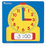 Ceas de masa sablon Learning Resources, 30.5 cm, 5 - 9 ani