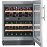 Vitrina frigorifica incorporabila Liebherr Premium UWTes 1672, 95 l, 5 rafturi, Inox