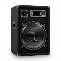 Malone PW-1222 DJ PA 3-Way Difuzor 30 cm 600 W