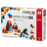 Magna-Tiles Solid Colors set magnetic - 48 piese