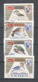 Yemen 1965 Birds MNH/used E.083