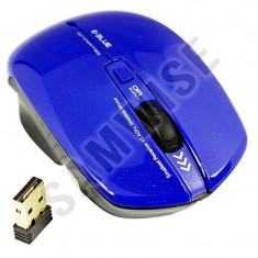 Mouse Wireless, E-Blue Smarte II, 1750 DPI, 3 butoane + 1 rotita, Compatibil...
