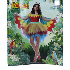 Costum de papagal pentru femei, L/XL, multicolor