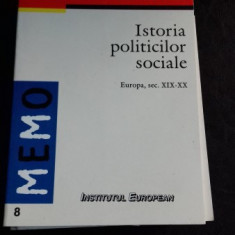 ISTORIA POLITICILOR SOCIALE - FRANCIS DEMIER
