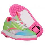 Heelys X Reebok Court Low Elect Pink/Neon Mint/Digi Glow, 31, 33, 34, 38