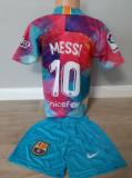 Echipament fotbal pentru copii FC.Barcelona Messi multicolor nou