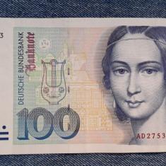 100 Mark 1989 Germania RFG, marci germane