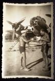 P.073 FOTOGRAFIE RAZBOI LUFTWAFFE WWII AVIATIE BOMBARDIER DORNIER 4U PK 8,7/6cm