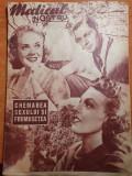 Revista medicul nostru 25 mai 1939-chemarea sexului si frumusetea