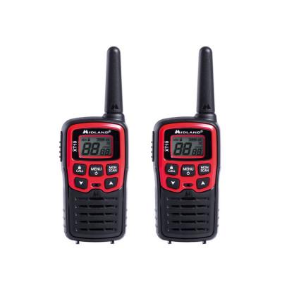 Resigilat : Statie radio PMR portabila Midland XT10 set cu 2 buc cod C1176 foto