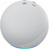 Cumpara ieftin Boxa portabila Amazon Echo Dot 4nd Gen, Wi-Fi, Bluetooth, Cu Asistent Personal Alexa (Alb)