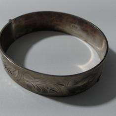 Bratara fixa vintage din argint -2553