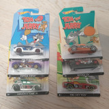 Set 6 masinute hot wheels Tom and Jerry, 1:64