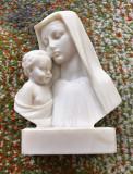 Statue alabastru - Maria si pruncul - Grecia - lucrata manual, Religie, Europa