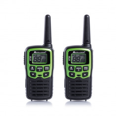 Resigilat : Statie radio PMR portabila Midland XT30 set cu 2 buc. verde C1177 incl