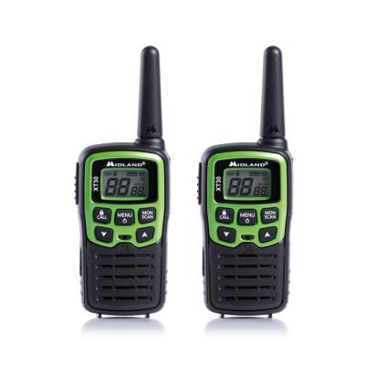 Resigilat : Statie radio PMR portabila Midland XT30 set cu 2 buc. verde C1177 incl foto
