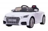 Masinuta electrica pentru copii Audi TTS 2x 30W 12V Premium #Alb