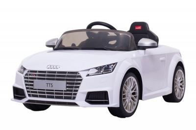 Masinuta electrica pentru copii Audi TTS 2x 30W 12V Premium #Alb foto