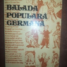 Balada populara germana