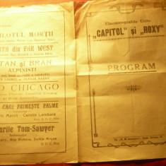Program Cinematografele Unite Capital si Roxy - Ultimul gangster si Baieti in un