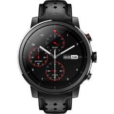Ceas smartwatch Xiaomi Amazfit Stratos 2S, Sapphire, Leather Black foto