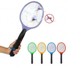 Paleta electrica anti insecte 2 in 1, reincarcabila priza, activa pe timpul incarcarii