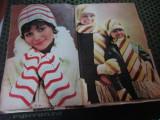 orele tricotajului an 1973 din almanahul femeia h 25