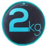 Disc Nisip Dumbbell 2kg, Domyos