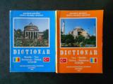 AGIEMIN BAUBEC, DENIZ BAUBEC GEAFER - DICTIONAR ROMAN-TURC / TURC-ROMAN 2 volume