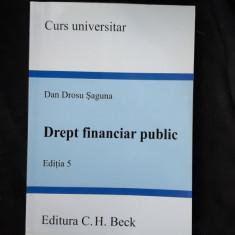 DREPT FINANCIAR PUBLIC - DAN DROSU SAGUNA