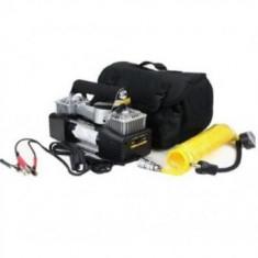 Compresor auto cu 2 cilindrii 30A si 85L/min