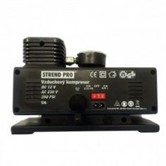 Compresor de aer pentru auto Strend Pro Aircom AC250, 17 Bar, alimentare 220V/12V