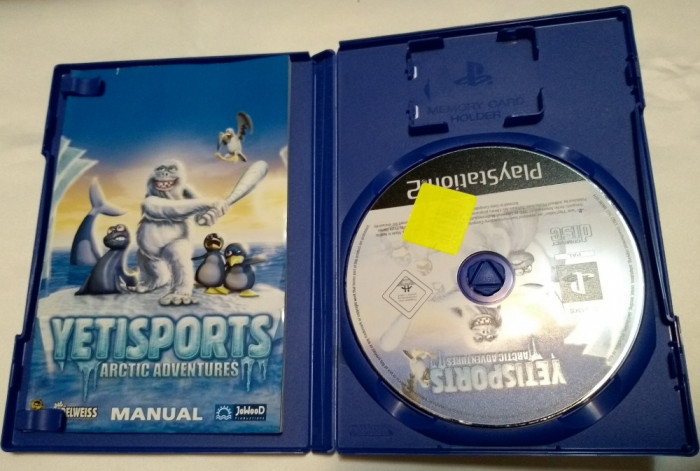 [PS2] Yetisports Arctic Adventures - joc original Playstation 2