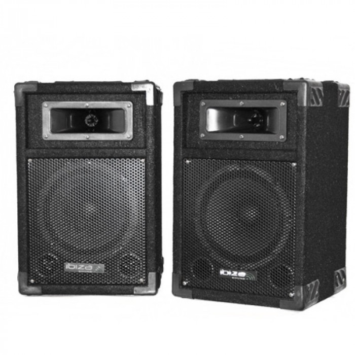 Set 2 boxe, 2 cai bass reflex, 8 inch, RMS 90 W